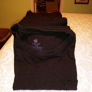 mens black tee shirts